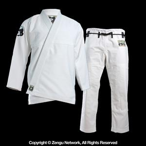 Inverted Gear White Panda Jiu Jitsu Gi